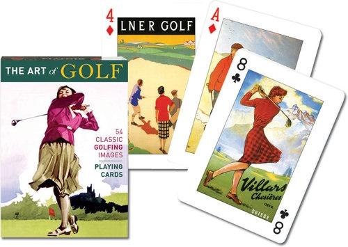 Karty do gry Piatnik 1 talia Sztuka golfa