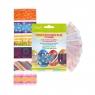 Dekoracja jajek Arpex: barwniki do jaj, 5 kolorów + owijki do jajek, 6 sztuk (SW0116)
