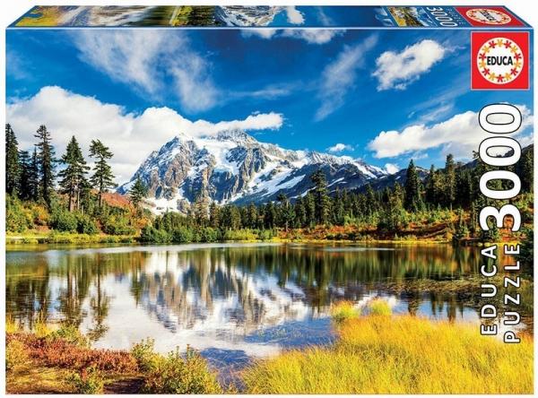 Puzzle 3000 elementów Góra Shuksan, Waszyngton USA (18011)