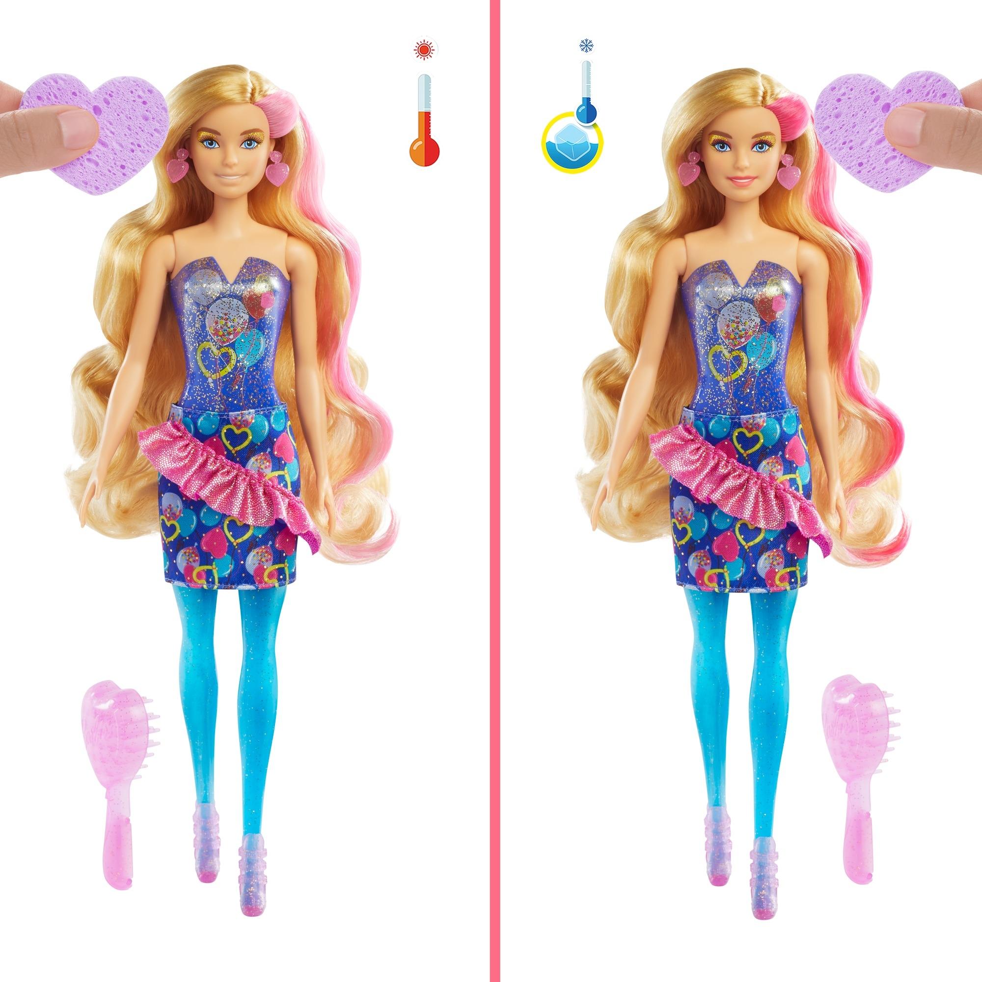Barbie: Color Reveal - Imprezowa lalka (GTR96)