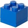 LEGO, Minipudełko klocek 4 - Niebieskie (40111731)