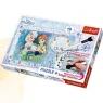 Puzzle Plus 70 elementów + Magiczny mazak Kraina Lodu Urodziny Anny (75111)