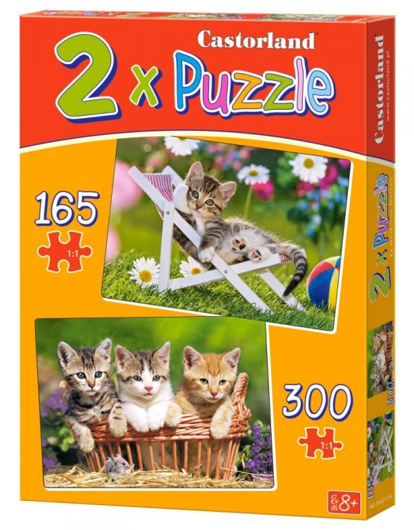 Puzzle  2W1 Kittens in the Garden (021116) .