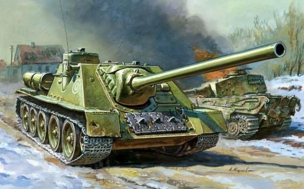 ZVEZDA SU100 Soviet Self Propelled gun (6211)