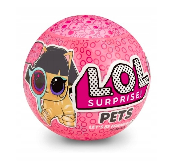 L.O.L. Surprise Pets - zwierzątko niespodzianka (552116)