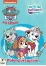Psi Patrol. Wodą malowane nr 4 Kolory przyjaźni
