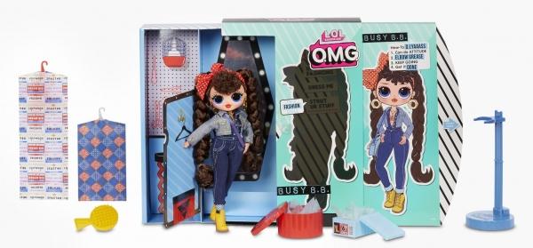 L.O.L. Surprise! - OMG Fashion lalka Busy B.B.