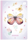 Zeszyt A5/32 kartkowy w kratkę - kolekcja 403A GIRLS