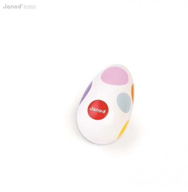Janod, Marakasy jajko Confetti (J07611)