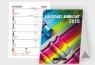Kalendarz 2019 Biurkowy B9 Mini Merkurier BESKIDY