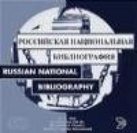 Russian National Bibliography Plus  8e CD