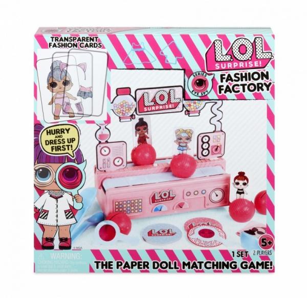 Figuka L.O.L. Fashion factory game (555117e4cpo/555117e4c)