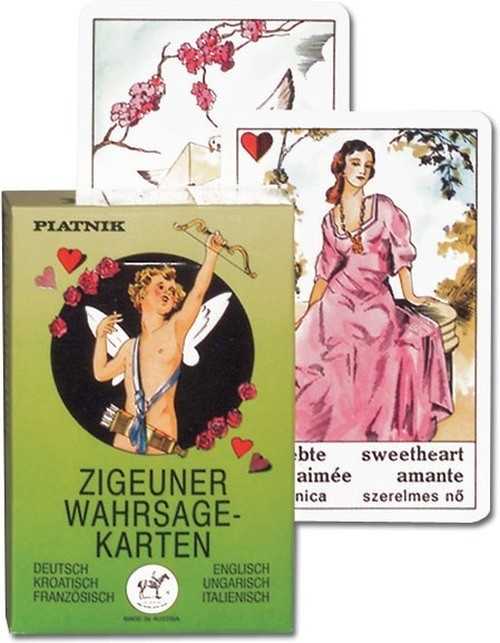 Wróżby cygańskie karty do wróżenia Piatnik