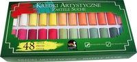 Pastele artystyczne 48 kolorów grube