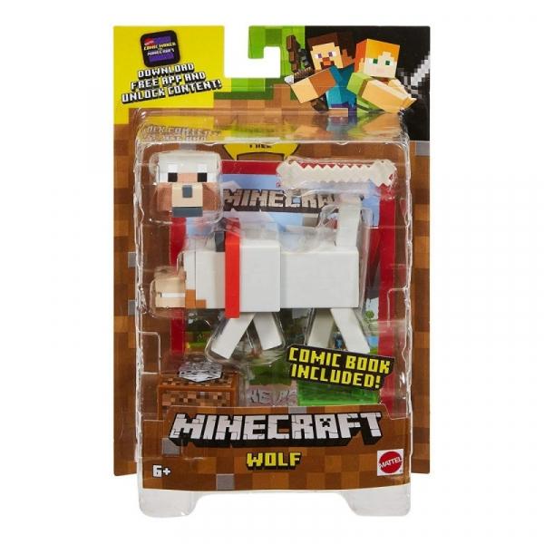 Figurka Minecraft Comic Maker Wolf (GCC11/GCC21)