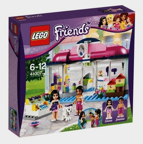 Lego Friends: Salon dla zwierząt Heartlake (41007)