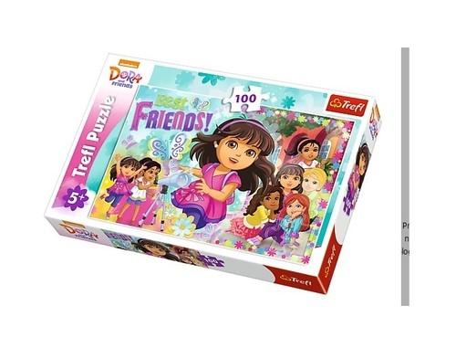 Puzzle 100: Dora. Przygoda czeka