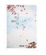 Notes A5/96K Wróbel i kwiaty wiśni