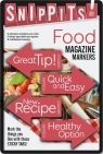 Snippits! Food - znaczniki jedzenie samoprzylepne
