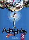 Adosphere 3 Podręcznik z płytą CD Gimnazjum Gallon Fabienne, Grau Katia, Macquart-Martin Catherine