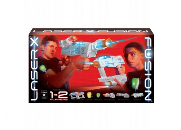 Laser X Fusion - zestaw XXL (LAS88811)