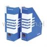Pojemnik na dokumenty (czasopisma) Donau A4 niebiesko-biały (7649001PL-10) sciete