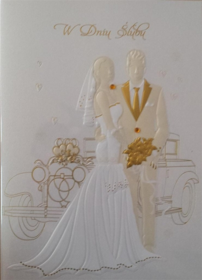 Karnet ślubny B6 Premium 11 + koperta