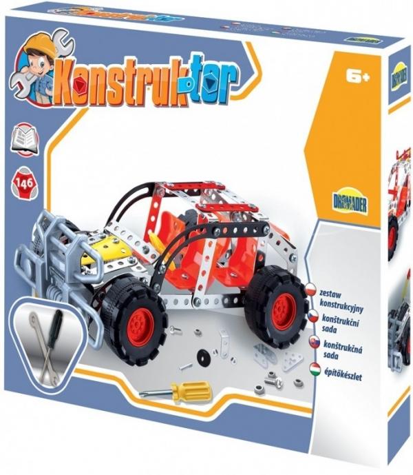146 elementów Konstruktor, Jeep (02411)