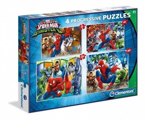 Puzzle 20+60+100+180 Spider-Man (96011)