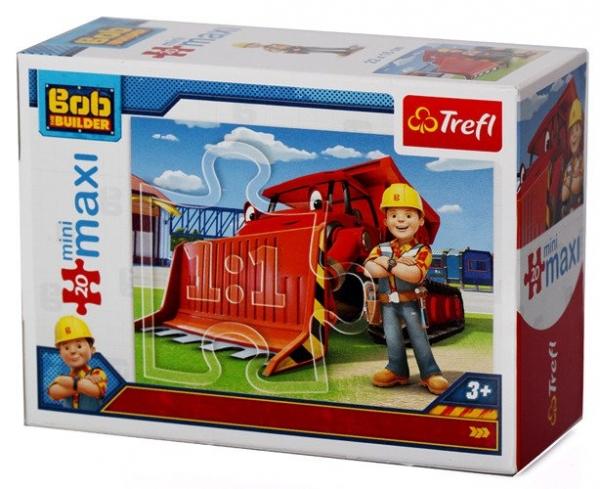 Puzzle MiniMaxi 20: Bob i maszyny 4 (56002)