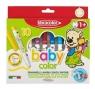 Mazaki Babycolor od 1 roku 10 kolorów FIBRACOLOR