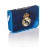 Piórnik pojedyńczy z wyposażeniem 2 klapowy Real Madrid