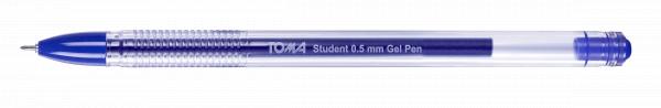 Długopis żelowy Student niebieski (TO-071 12)