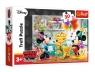 Puzzle 30: Myszka Miki i przyjaciele - Tort urodzinowy (18211)