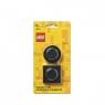 Zestaw magnesów LEGO - Czarne (40101733)