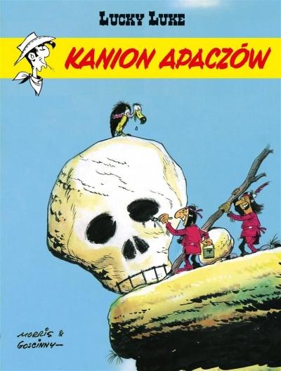 Lucky Luke Kanion Apaczów Tom 37 Goscinny Rene