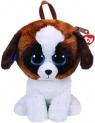 Maskotka Ty Fashion plecak Duke - brązowy-biały pies (TY 95011)
