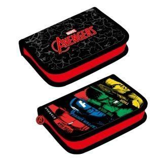 Piórnik bez wyposażenia 2 klapki Avengers