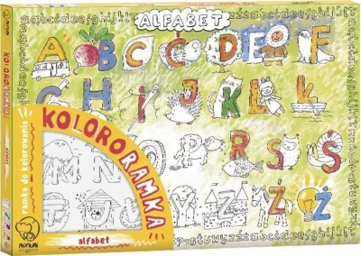 Kolororamka. Alfabet praca zbiorowa