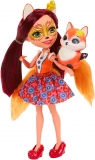 Enchantimals Lalka + Zwierzątko, Felicity Fox (DVH87/DVH89)