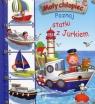 Mały chłopiec Poznaj statki z Jurkiem