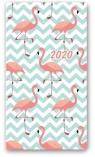 Kalendarz 2020 Tygodniowy A6 Soft Flamingi 11TS