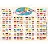 Puzzle flagi państw świata