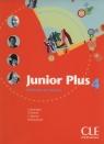 Junior Plus 4 Livre de l'él?ve