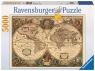 Puzzle 5000: Dawna mapa świata (17411)