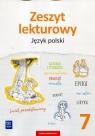 Zeszyt lekturowy Język polski 7 Szkoła podstawowa Horwath Ewa