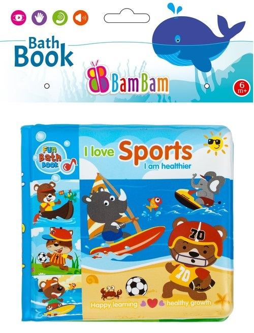 Książeczka do kąpieli Zwierzęta Sport