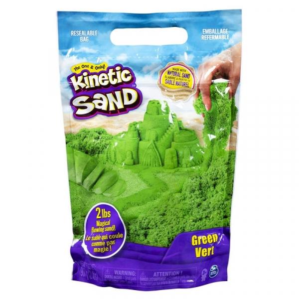 Piasek kinetyczny KINETIC SAND żywe kolory zielony (6046035/20107735)