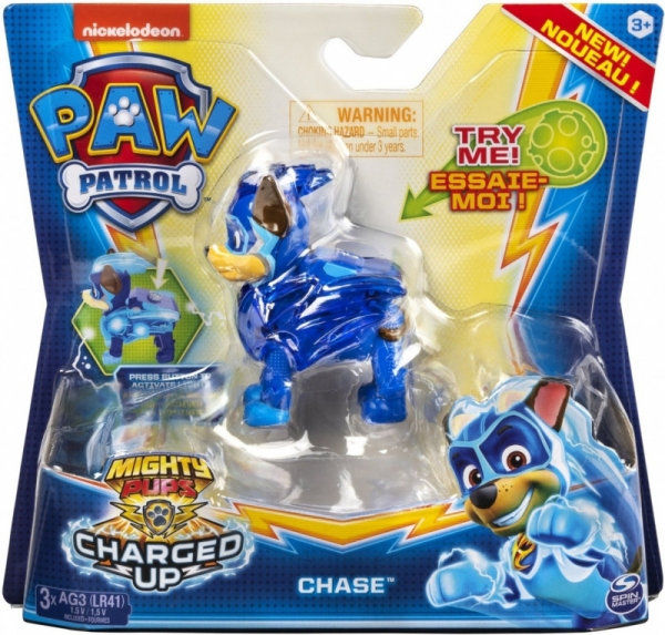 Figurka PSI PATROL Mighty Pups Chase (6055929/20122532)