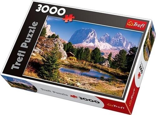 Puzzle Jeziorko w Dolomitach 3000 (33012)